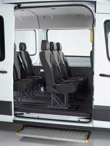 transit kombi l2 l3 einzelsitze behindertengerechter. Black Bedroom Furniture Sets. Home Design Ideas